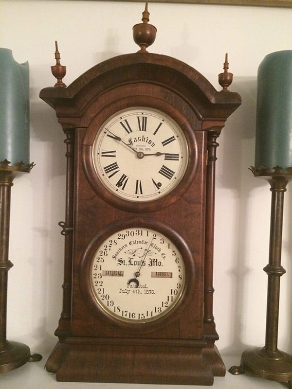 Restored Antique clock dial