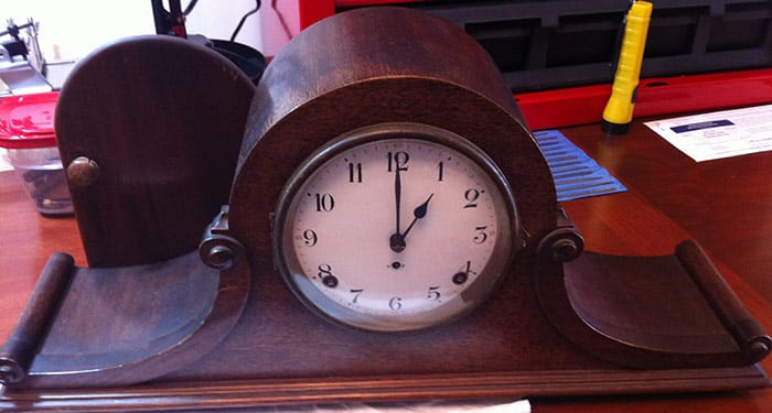 Seth Thomas Clock Repair Example – Cary, NC